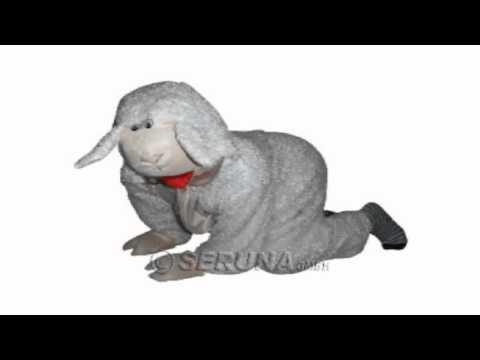 AN63 Schafkostüm Erwachsenenkostüm Tierkostüm Karneval Fasching Kostüme Schaf Faschingskostüm