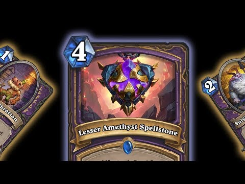 [Kobolds & Catacombs] 3 NEW CARD REVEALS (Amethyst Spellstone, Kobold Librarian, Vulgar Homonculus)
