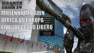 HOI IV MULTIPLAYER MILLENNIUM DAWN - AFRICA VS EUROPA