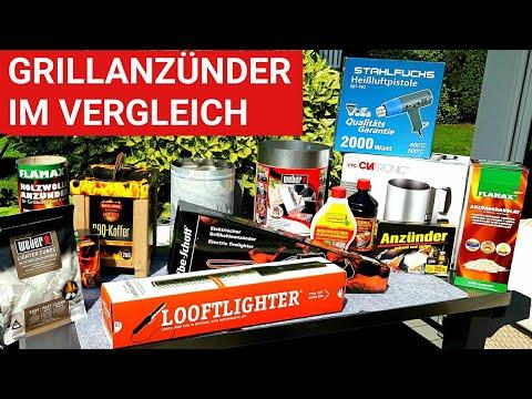 ♨️ GRILLBLITZ: Test Grillanzünder 2018, Paraffin-, Holz-, Elektroanzünder, Rapidfire, Looftlighter