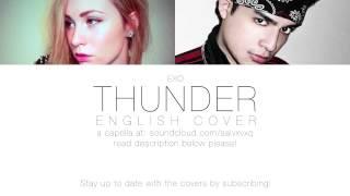 EXO THUNDER English Cover by Impaofsweden & SalvMaknae