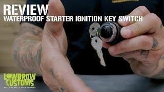 Bolt On 13/16 inch Ignition Key Switch Bracket for Harley-Davidson