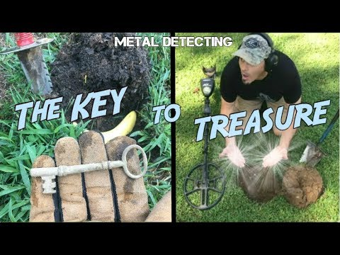 The Key to Finding Lost Treasure! - Old Property Metal Detecting