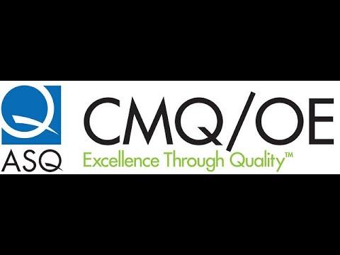 How I prepared for ASQ CMQ/OE Exam - YouTube