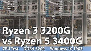 ryzen 3200g vs 3400g benchmark - Thủ thuật máy tính - Chia sẽ kinh