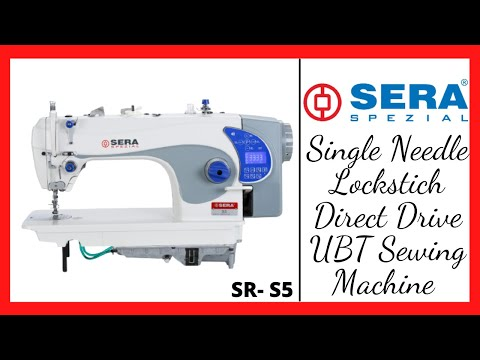 Single Needle Lockstitch Ubt Machine