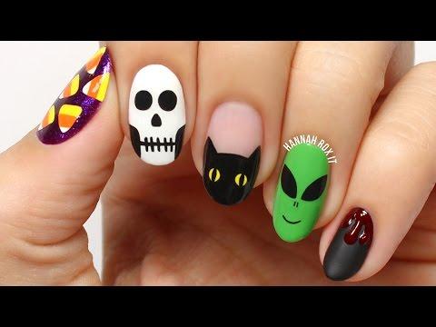 5 Fun Halloween Nail Art Designs!