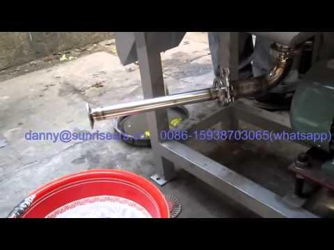 Industrial screw press fruit juicer, fruit juice extractor, juicer machine