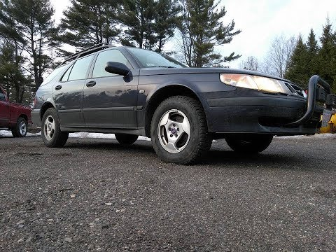 Saab 9-5 Custom Lift Kit!