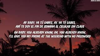 CNCO Ya Tú Sabes English Lyrics Translation (Letra)