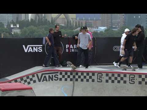 3rd Place Run: Tom Schaar - 90.82   2017 Vans Park Series World Championships