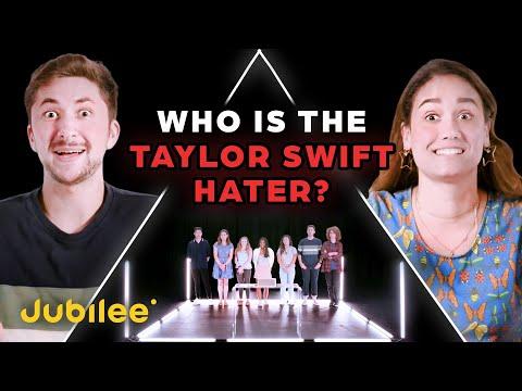 6 Taylor Swift Fans vs 1 Secret Hater