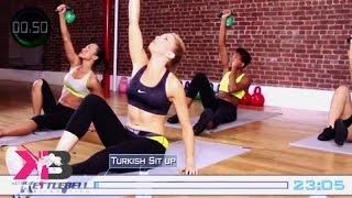Kettlebell Kickboxing Scorcher Series 4 DVD Home Fitness w/ Dasha Libin Anderson