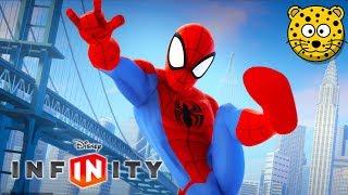 SPIDERMAN Człowiek Pająk Superbohaterowie Gry Bajki dla Dzieci po Polsku - Disney Infinity 2.0