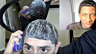 😂WHITE BOY THINKS HIS 360 WAVES IS KILLIN 😂😂🌊 ARE THEY? (REACTION VIDEO)