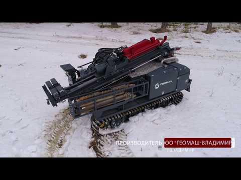 Роторная буровая установка УРБ-40 (гидрогеология)