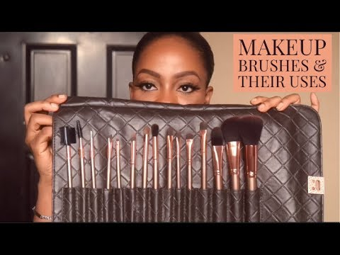 Pinceaux de maquillage de base et leurs utilisations