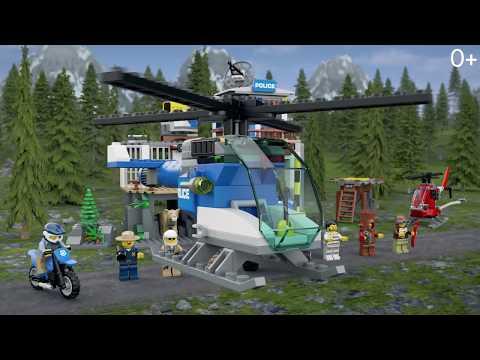 Конструктор Ll «Полицейский участок в горах» 28014 (City 60174) 713 деталей