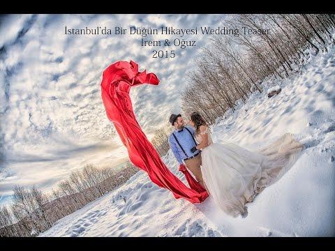 Kar altında düğün çekimi İrem Oğuz Wedding Snow Teaser