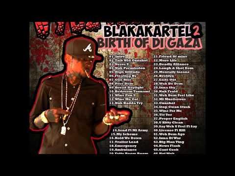 Vybz Kartel – Blakakartel 2 Birth of the Gaza Mixtape Mixed by Matthew Doops (Clean) (Nov 2013)