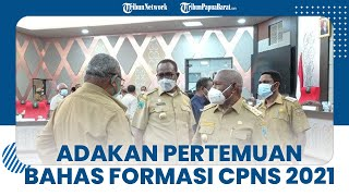 Pembahasan Konsep CPNS 2021 Dilakukan Kepala Daerah Papua Barat karena Konsep Sering Bermasalah