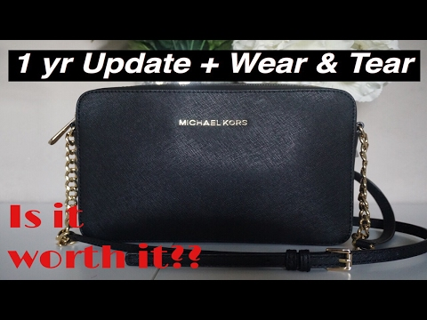 Review: Michael Kors Jet Set Crossbody Bag | Wear & Tear Update