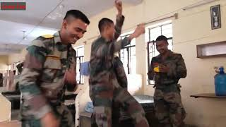 Desi dance by indian army boys