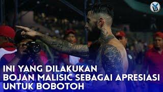 Salut, Ini Aksi Bojan Malisic untuk Bobotoh di Stadion 17 Mei