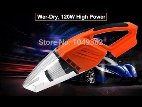 GRIKEY ручной автомобильный пылесос 5KPA на 12 вольт 120 Ватт