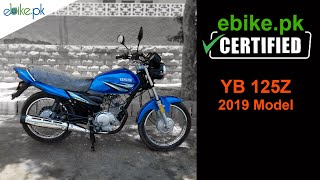 Certified YB125Z Yamaha 2019 Model for Sale | ebike.pk