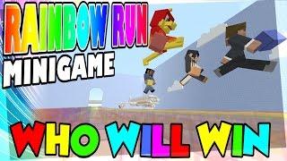 MARIO MADNESS ? -|- RAINBOW RUN -|- Minecraft Xbox - Minigame