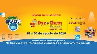 Feira Internacional Têxtil 2018_BIAS 2018_DYE CHEM 2018