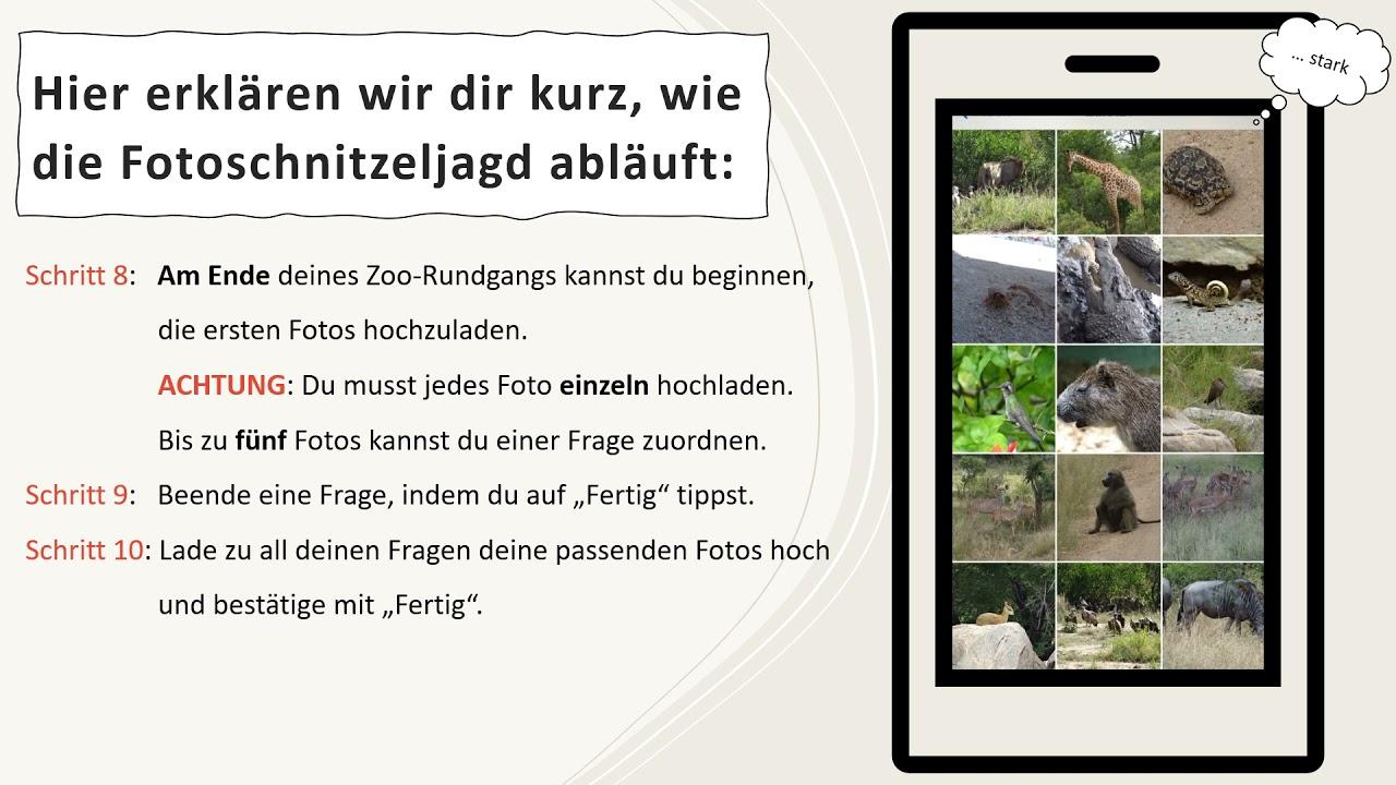 """Fotoschnitzeljagd durch den Leipziger Zoo - LeipzigLab """"Natur und Kinder"""" - Universität Leipzig"""