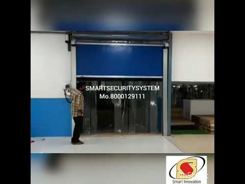 SmartTek Roll Up High Speed Door