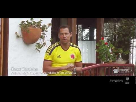 Proexport y Óscar Córdoba promocionan el Mundial Sub20 2011 - Medellín