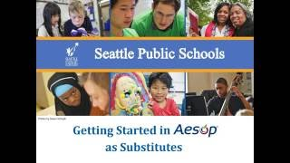 Aesop: getting started as a substitute