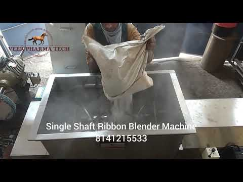 Semi Automatic Chemical Blender Machine