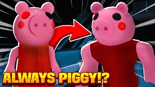 HOW TO ALWAYS BE PIGGY IN ROBLOX! Roblox Piggy Chapter 10 Mall (Making Piggy A Account!)