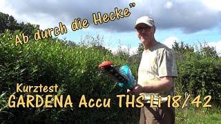 """""""Ab durch die Hecke"""" Kurztest GARDENA-Teleskop-Heckenschere Li 18/42"""