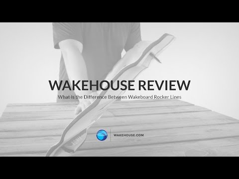What Is the Difference Between Wakeboard Rocker Lines | WakeHouse Video Review