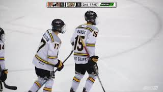HIGHLIGHTS: Nanaimo Clippers @ Victoria Grizzlies – October 31st, 2020