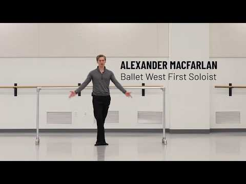 Intermediate/Advanced Ballet taught by Alexander MacFarlan