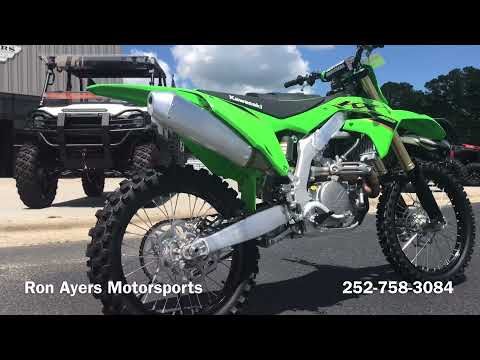 2022 Kawasaki KX 450 in Greenville, North Carolina - Video 1