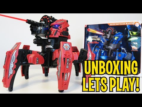UNBOXING & LETS PLAY – SPACE WARRIOR BATTLE ROBOT – FULL REVIEW! by RCmoment
