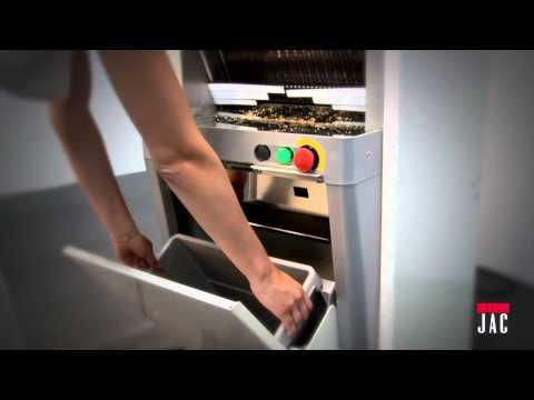 video 1, Trancheuses pain à cadres auto FACE+ 450