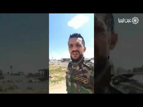 أحد قيادات قوات حفتر يتوعد بقصف ذات العماد وحي الأكواخ بالجراد