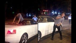 """Chàng trai """"Đại gia"""" đi xe Audi mui trần bạc tỷ bán...kẹo kéo 5.000 đồng một cây"""