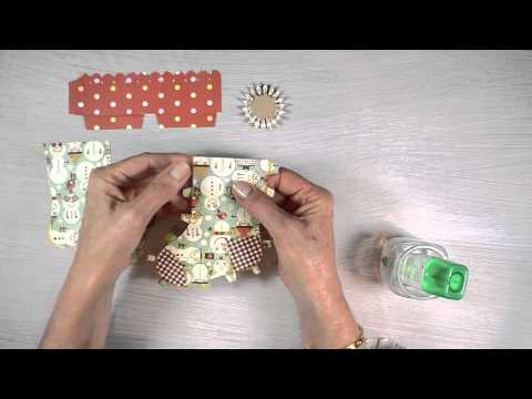Making Stocking Gift Holders with Brenda Walton