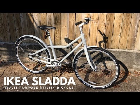 IKEA Sladda Bicycle – Review and First Ride of an IKEA Bike