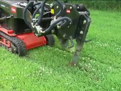 Toro® Dingo® Vibratory Plow Attachment